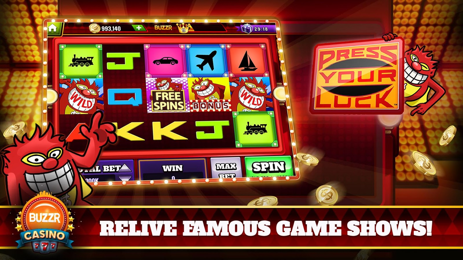 Free spins today 96177