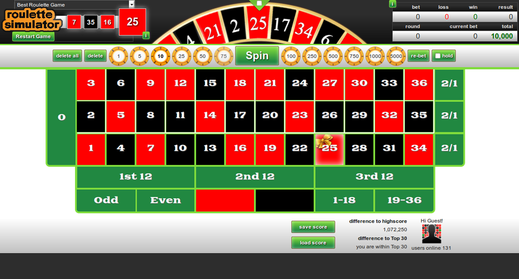 Free roulette 19365