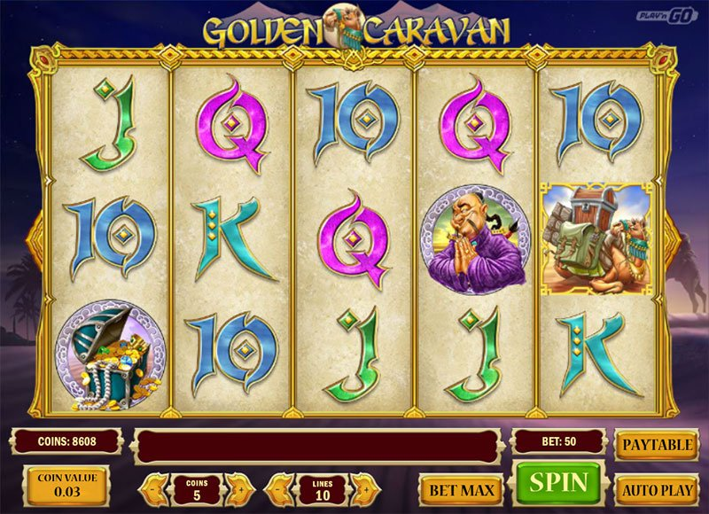 Golden Caravan slot 79786
