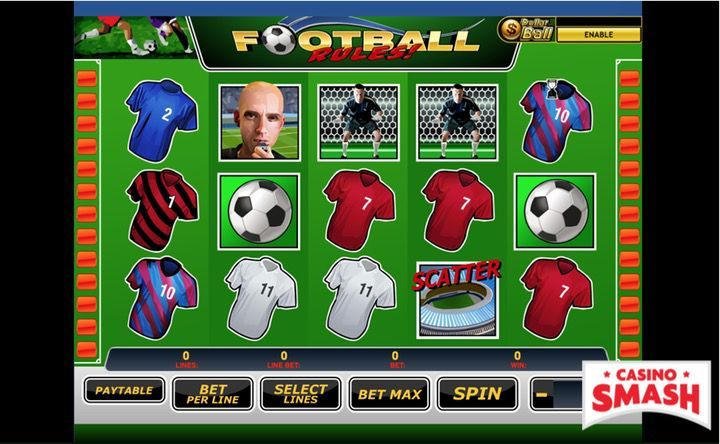 Red gaming Football 6513