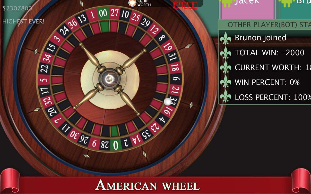 Roulette wheel simulator 61674