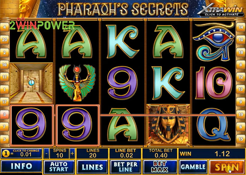 Video Pharaoh Secret 95297